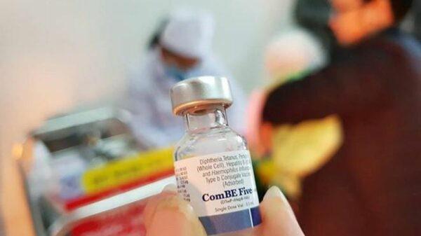 Vắc-xin ComBE Five là vắc-xin 5in1 được sử dụng trong chương trình tiêm chủng mở rộng