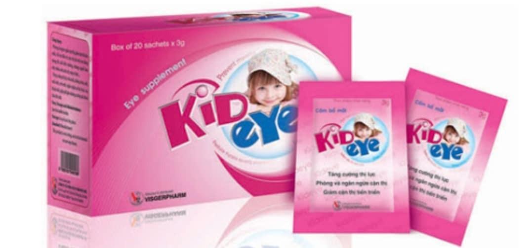 thuốc bổ mắt Kid eyes