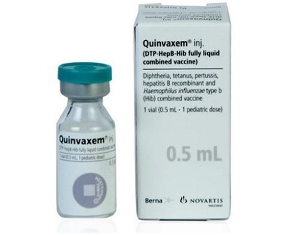 Vắc-xin 5 trong 1 Quinvaxem