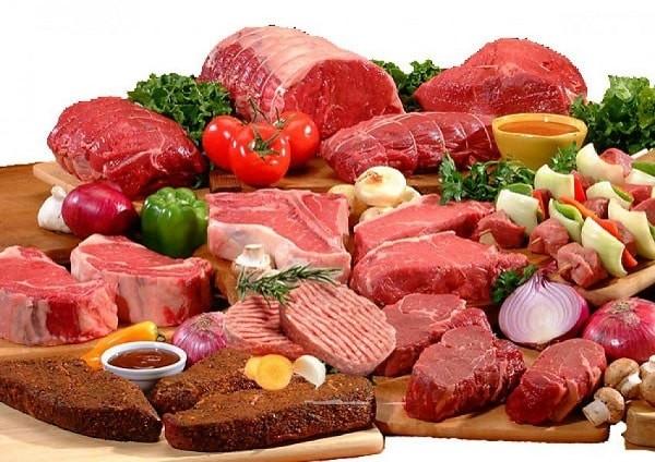Thịt đỏ là món ăn trong thực đơn bênh trĩ kiêng ăn gì