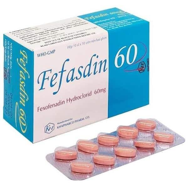 Tìm hiểu thông tin thuốc Fefasdin 60