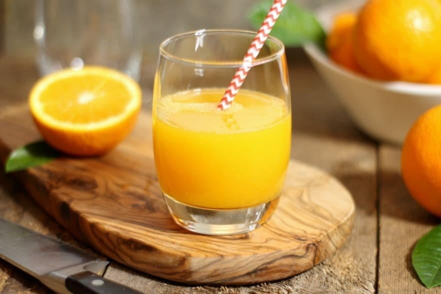 Nước cam giúp cải thiện sức khỏe của hệ tiêu hóa