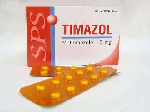 Methimazole là thuốc kháng giáp đầu tay trong điều trị bướu cường giáp.