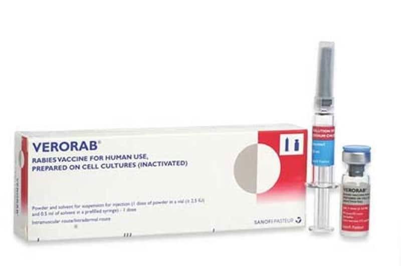 Phác đồ tiêm vắc-xin bệnh dại Verorab