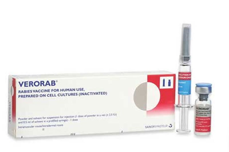 Vắc-xin ngừa dại Verorab