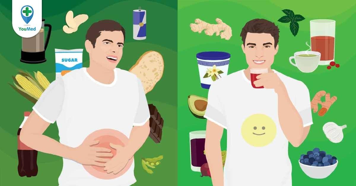 Viêm dạ dày kiêng ăn gì