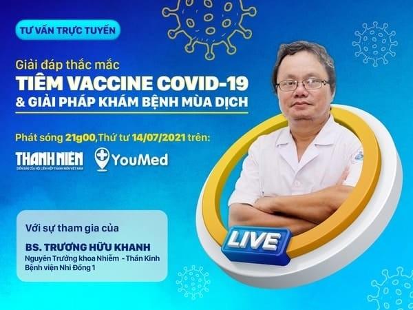 Bác sĩ Trương Hữu Khanh giải đáp thắc mắc về vắc xin Covid 19