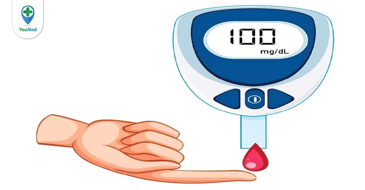 cách sử dụng que thử đường huyết