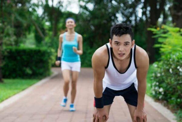 Nếu có ceton trong nước tiểu, bạn không được tập thể dục quá sức