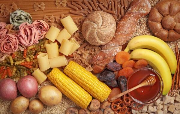 Tinh bột, ngũ cốc, đậu hạt cung cấp đường huyết cao