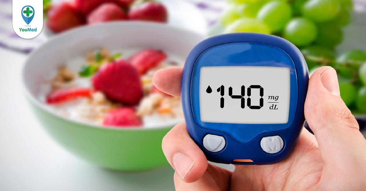 đường huyết sau ăn