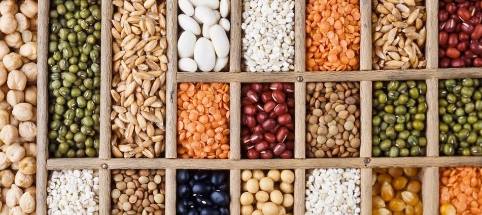 Các loại hạt có hàm lượng tinh bột rất cao