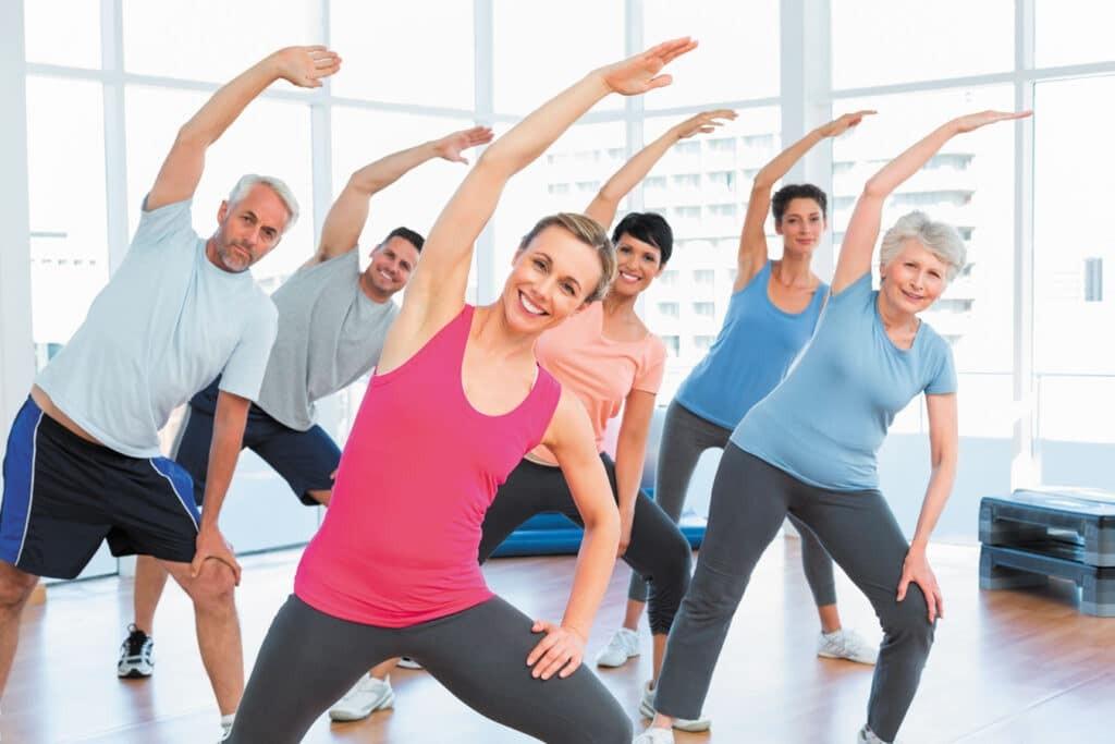 Tập thể dục đều đặn giúp bạn có một sức khỏe tốt