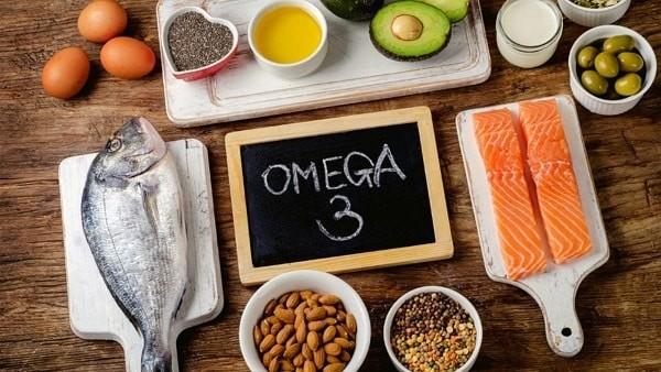 Thực phẩm giàu omega-3.