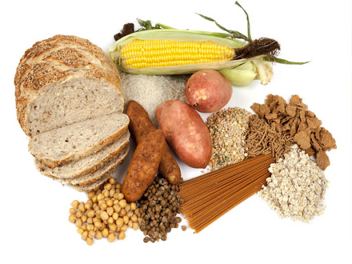 Glucid có nhiểu trong các thực phẩm giàu tinh bột