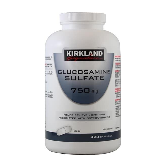 Thuốc bổ khớp Kirkland Glucosamine của Mỹ