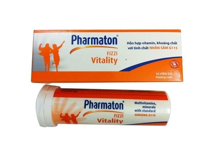Thông tin về Viên sủi Pharmaton Vitality Fizzi