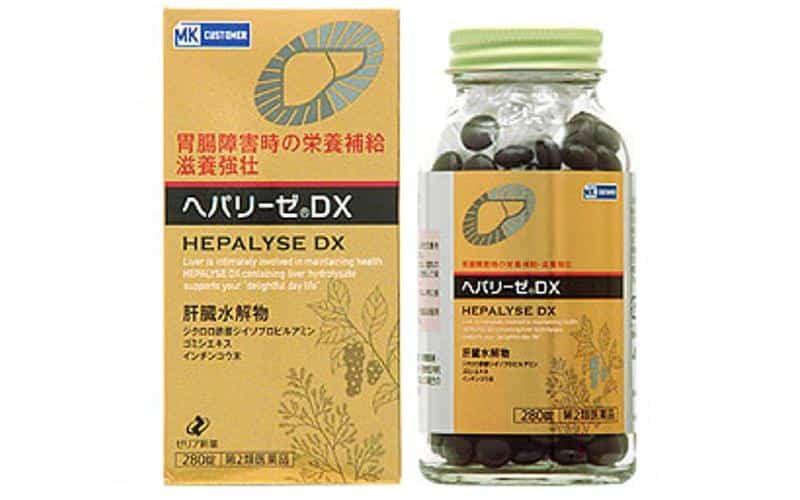 thuốc bổ gan Hepalyse DX