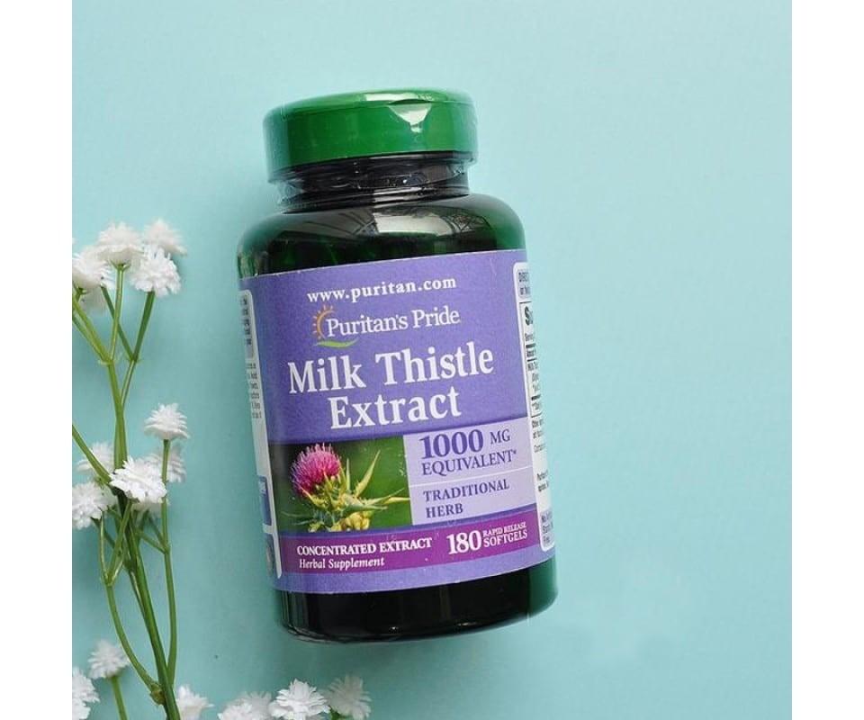 Thuốc bổ gan Milk Thistle