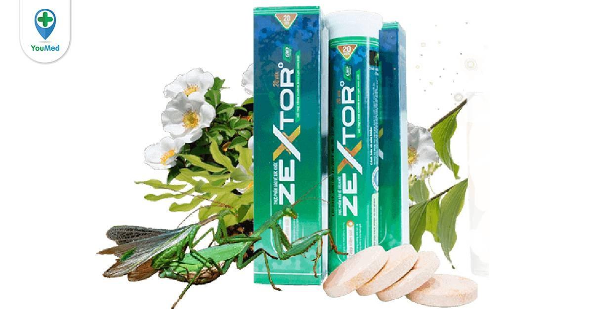 Viên sủi Zextor có tốt không giá, thành phần và cách sử dụng hiệu quả