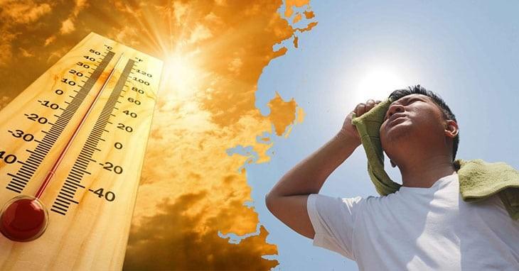 Thường xuyên làm việc trong thời tiết nóng nực làm tình trạng tiết mồ hôi nặng nề hơn