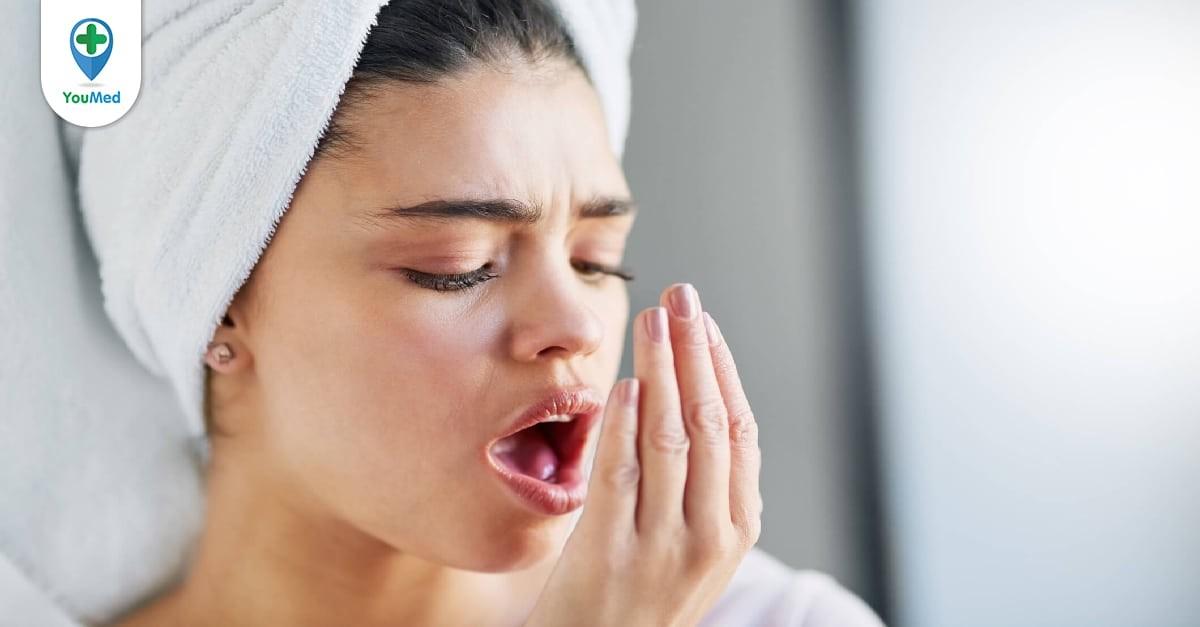 điều trị hơi thở có mùi
