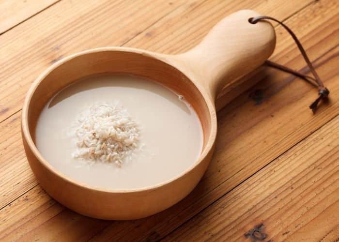 Làm trắng da nhờ nước vo gạo