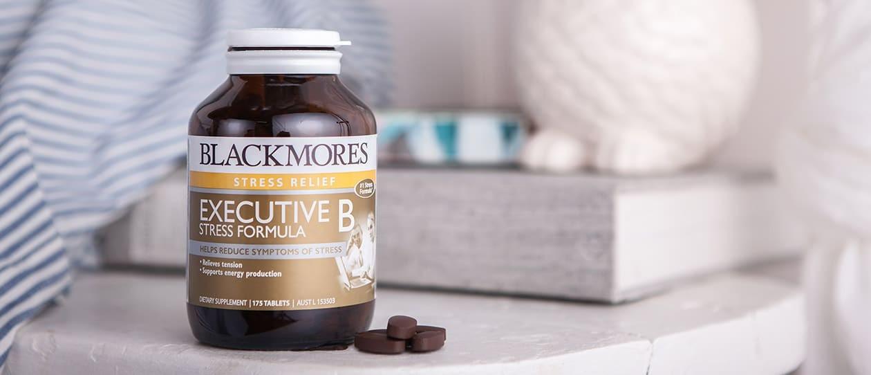 thuốc hỗ trợ giảm căng thẳng Blackmores Executive B