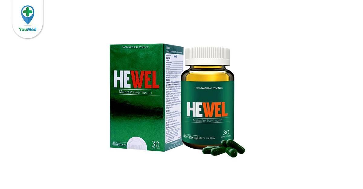 Thuốc bổ gan Hewel có tốt không giá, thành phần và cách sử dụng hiệu quả