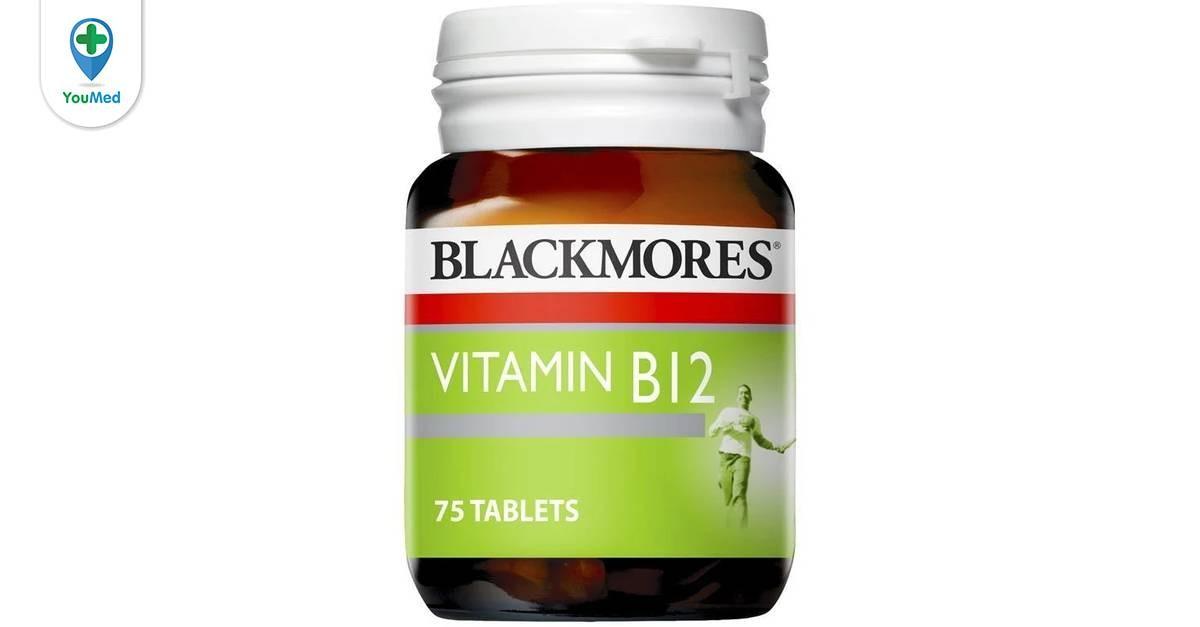 Thuốc bổ máu Blackmores B12 có tốt không giá, thành phần, cách dùng