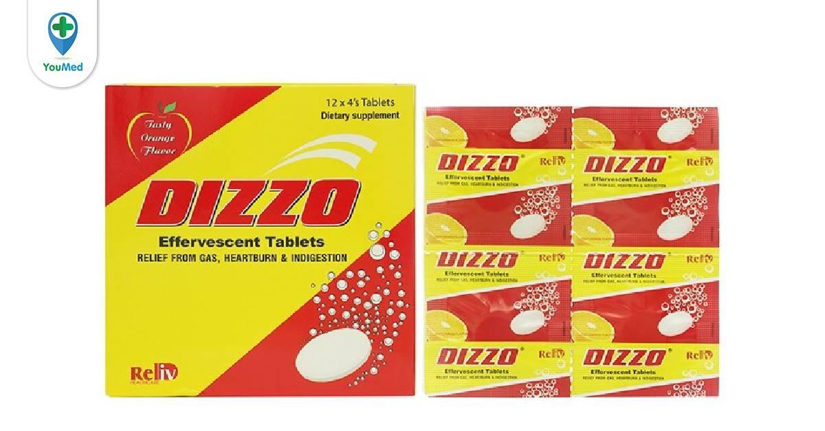 Viên sủi Dizzo giá, thành phần và cách sử dụng hiệu quả