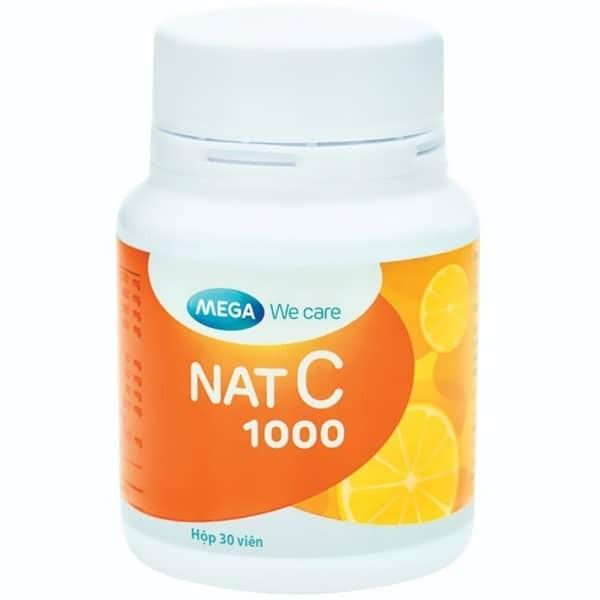 Vitamin C Nat C 1000mg