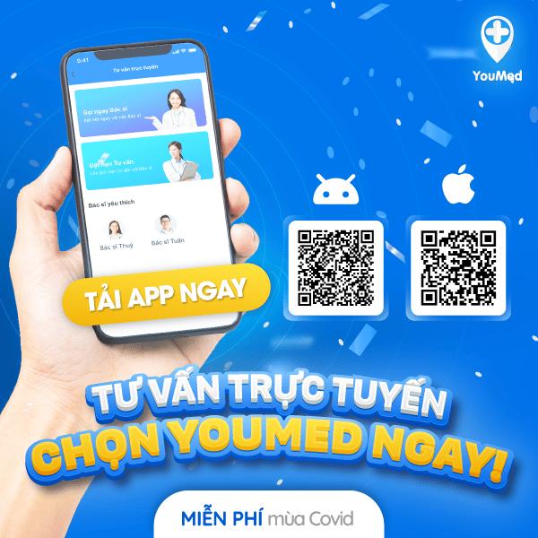 Tư vấn trực tuyên trên ứng dụng YouMed hoàn toàn miễn phí mùa COVID