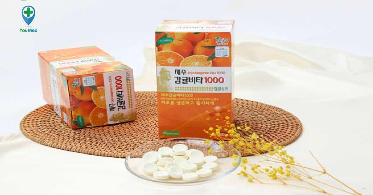 Vitamin C Jeju Orange có tốt không giá, thành phần và cách sử dụng