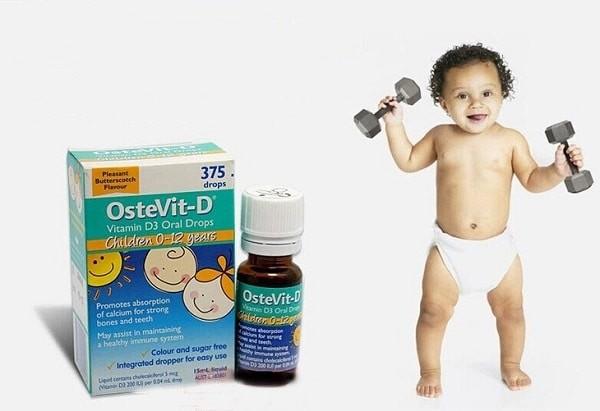 Vitamin D3 Ostevit D Drops